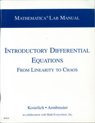 Mathematica Lab Manual for Introductory Differential Equations: From Linearity to Chaos