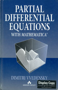 Partial Differential Equations with Mathematica