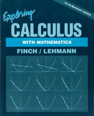 Exploring Calculus with Mathematica (earlier edition)