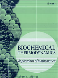 Biochemical Thermodynamics: Applications of Mathematica