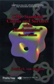 CRC Standard Curves and Surfaces with Mathematica, Second Edition