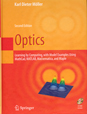 Optics: Learning by Computing, with Examples Using Mathcad, MATLAB, Mathematica, and Maple, second edition