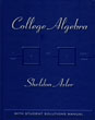 College Algebra with Student Solution Manual