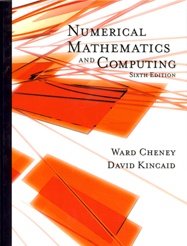 Numerical Mathematics and Computing, sixth edition