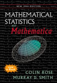 Mathematical Statistics with Mathematica