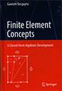 Finite Element Concepts: A Closed-Form Algebraic Development