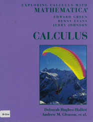 Exploring Calculus with Mathematica