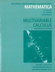 Exploring Multivariable Calculus with Mathematica (Preliminary Edition)
