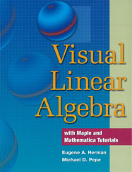 Visual Linear Algebra: with Maple and Mathematica Tutorials