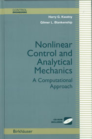 Nonlinear Control and Analytical Mechanics: A Computational Approach