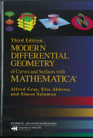 Modern Differential Geometry of Curves and Surfaces with Mathematica, Third Edition