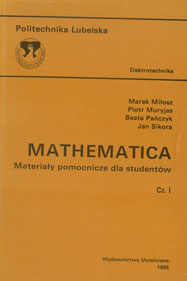 Mathematica Materialy pomocnicze dla student´ow, cz. 1