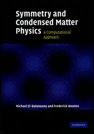 Symmetry and Condensed Matter Physics, A Computational Approach