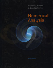 Numerical Analysis, ninth edition
