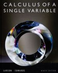 Calculus of a Single Variable, ninth edition