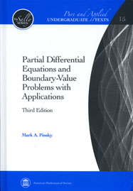Partial Differential Equations and Boundary-Value Problems with Applications, third edition