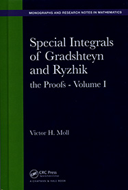Special Integrals of Gradshteyn and Ryzhik: the Proofs - Volume I