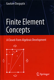 Finite Element Concepts: A Closed-Form Algebraic Development
