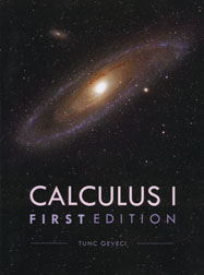 Calculus I, first edition